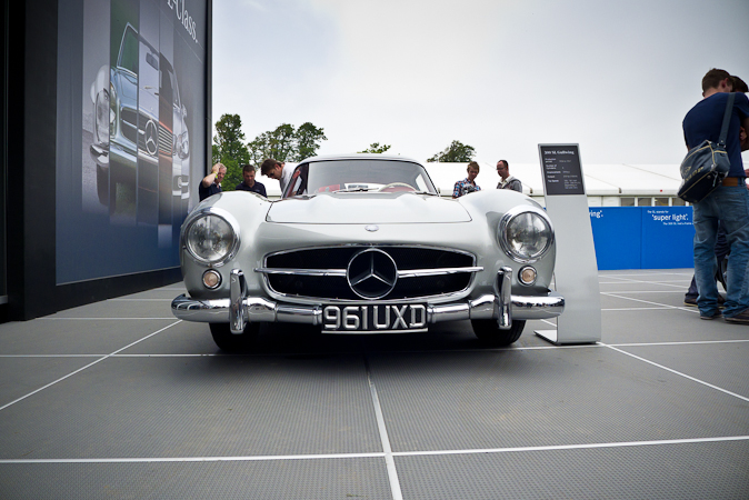 Goodwood Festival of Speed 2012 Mercedes Benz Gullwing 300SL