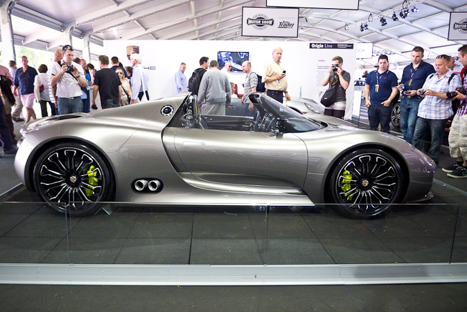 Goodwood Festival of Speed 2012 Porsche 918 Spyder