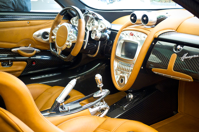 Goodwood Festival of Speed 2012 pagani huayra interior
