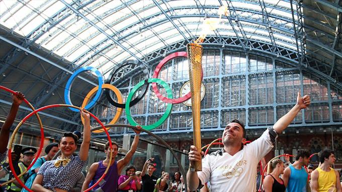 London 2012 Olympics torch relay
