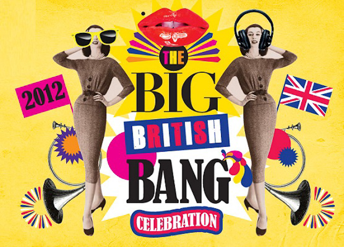London 2012 Olympics themed events and happenings - Selfridges Big British Bang Celebrations poster