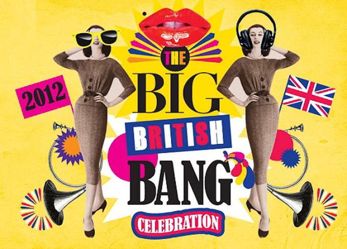 London 2012 Olympics themed events and happenings - Selfridges Big British Bang Celebrations poster
