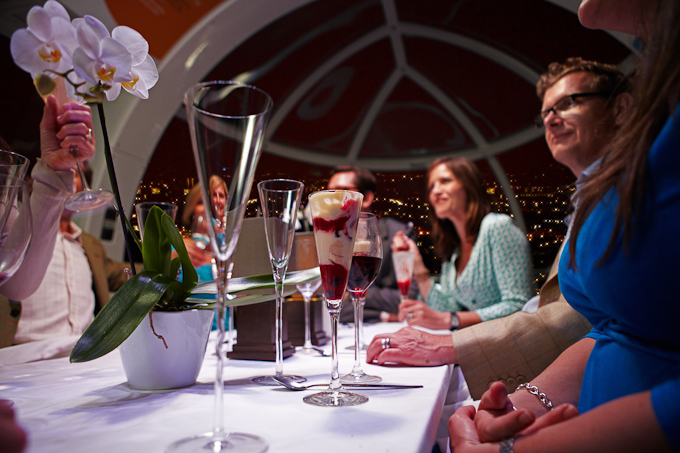 London 2012 Olympics themed events and happenings - London Eye Capsule hire dining