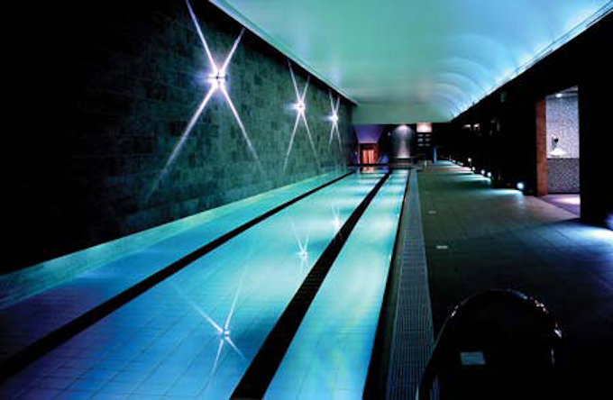 The Harbour Club swimming pool