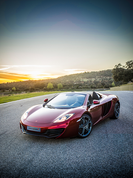 CDCLifestyle unveil the much anticipated new McLaren MP4-12C Spider