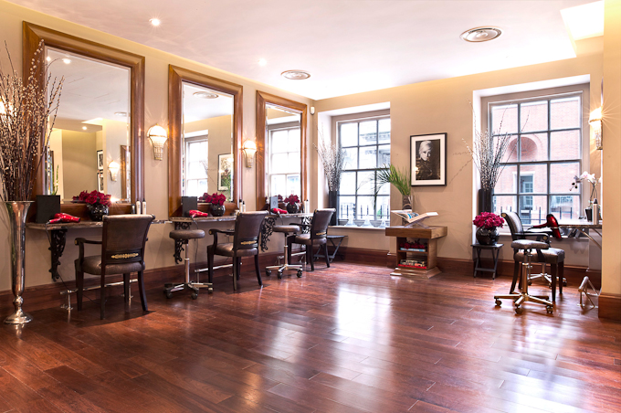 Nicky Clarke Mayfair hair salon Carlos Place ground floor image