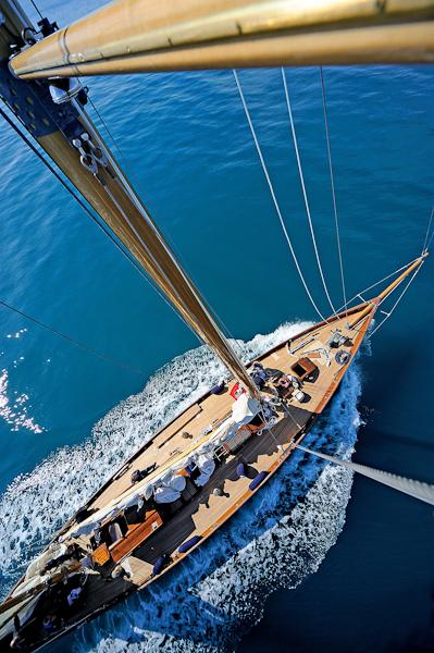 Panerai British Classic Week yacht Eilean