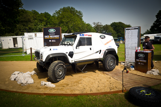 We meet the Race2Recovery team at Goodwood Festival of Speed as they prepare for the gruelling Dakar Rally