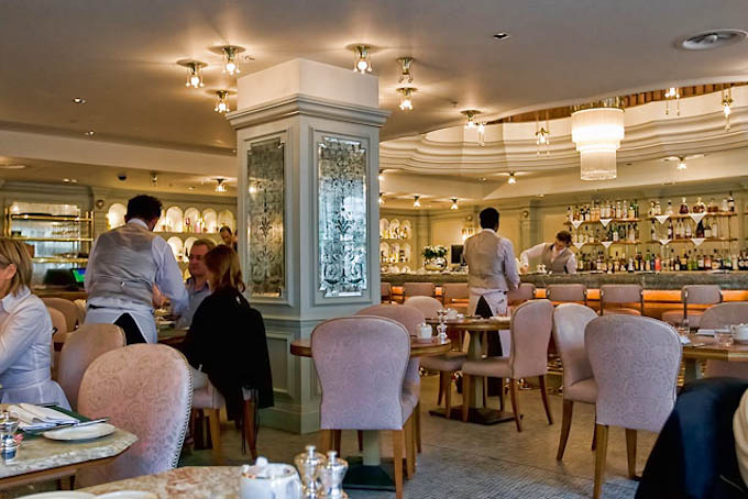 picture of the interior of Fortnum and Mason