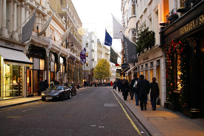 Shopping in london cdclifestyle uncover all the local for Quartiere mayfair londra