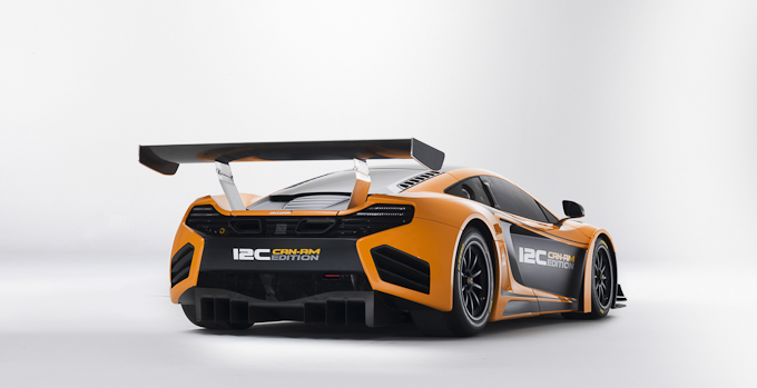 McLaren 12C CAN-AM Edition Racing Concept rear view