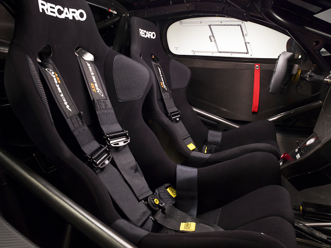 McLaren 12C CAN-AM Edition Racing Concept interior