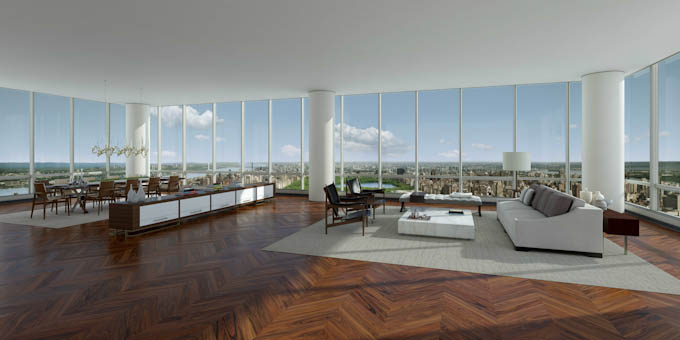 ONE57 presents Manhattan's most expensive accommodation