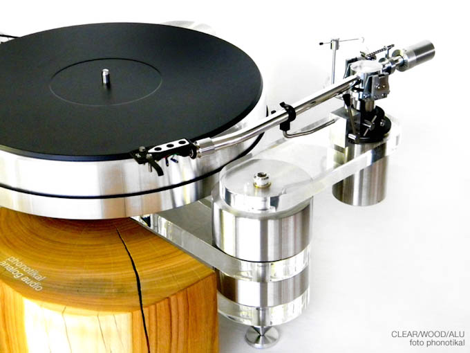 Phonotikal Clear Wood turntable is the epitome of style meets quality with vibration actuation technology