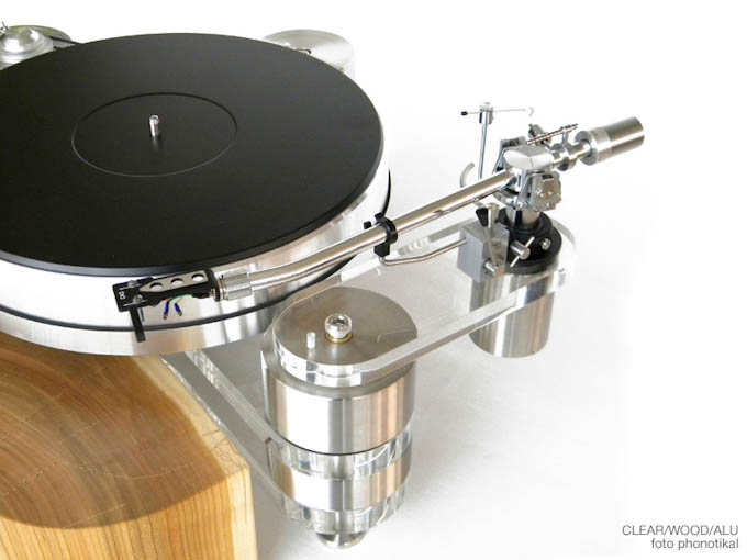 picture of Phonotikal Clear Wood turntable 