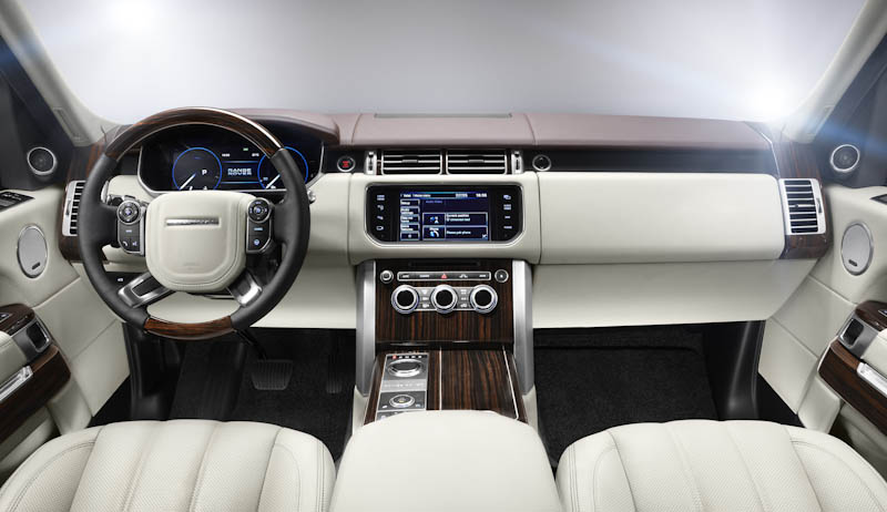 The Fourth Generation new Range Rover: the world's most capable and luxury SUV
