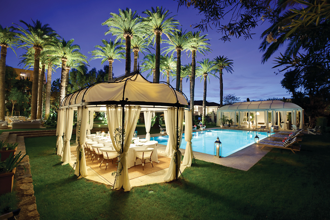 Reasons to visit St Tropez on the French Riviera pool at night