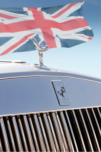 Rolls-Royce celebrates the success of London 2012 with bespoke pieces at the Closing Ceremony