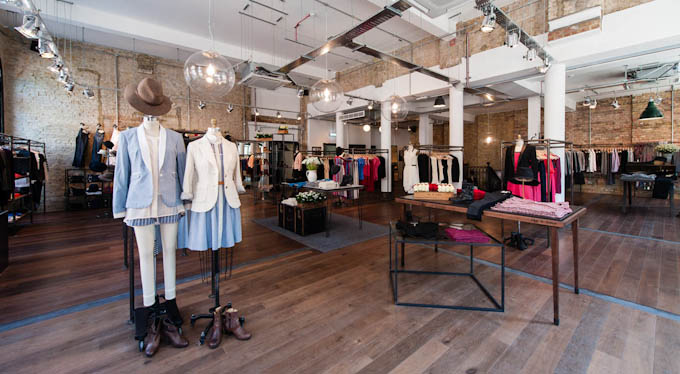 picture of the rag & bone shop floor