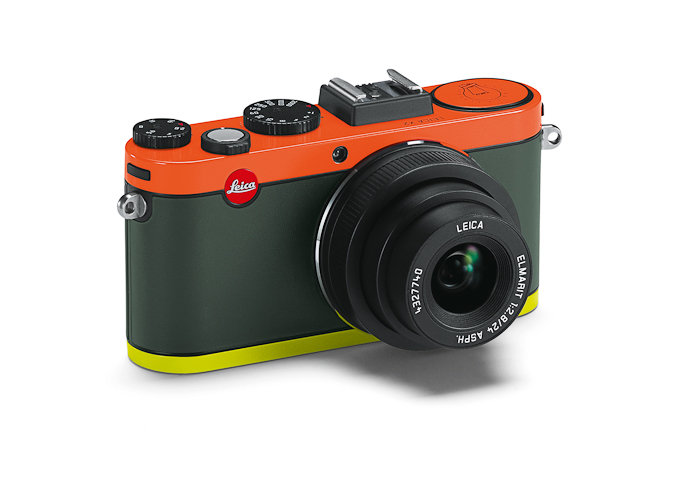 Leica X2 Paul Smith limited edition in orange and yellow