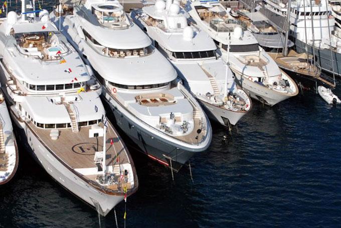 Monaco Boat Show 2012 superyachts