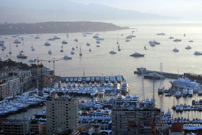 Monaco Boat Show 2012 Port Hercules