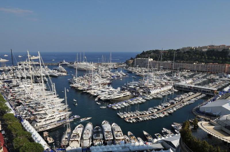 Monaco Boat Show 2012 image of Port Hercules