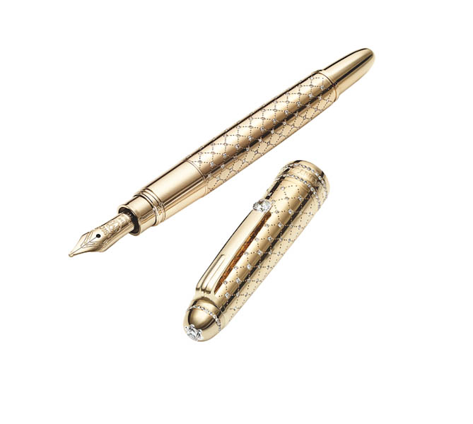The most beautiful of writing equipment: the Montblanc Meisterstck Mozart Jewellery Collection