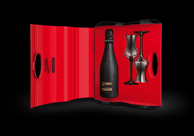 Piper-Heidsieck and Jean Paul Gaultier launch Black Cancan gift set at Selfridges