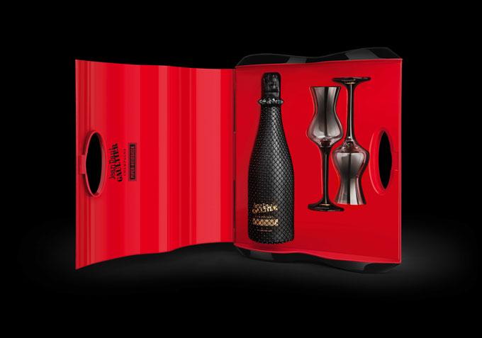 Piper-Heidsieck Jean-Paul-Gaultier Cancan gift set