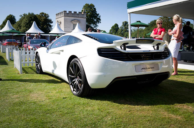 McLaren MP4-12C at Salon Prive Syon Park London 2012