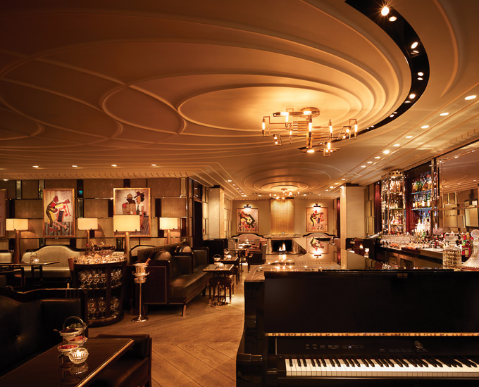 Corinthia Hotel London | 5 Star Luxury Hotel | Bassoon Bar interior