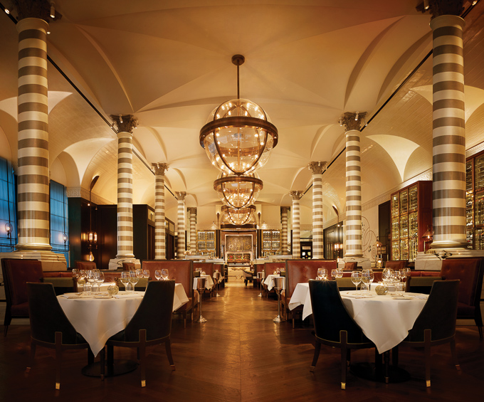 Corinthia Hotel London | 5 Star Luxury Hotel | Massimo Restaurant and Oyster Bar interior