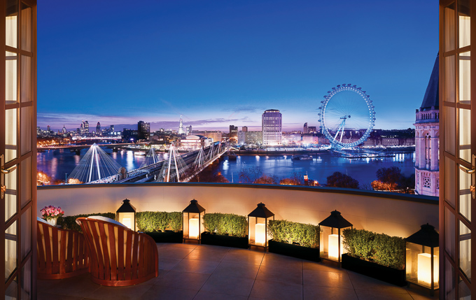 Corinthia Hotel London | 5 Star Luxury Hotel | The Royal Penthouse view of London Eye