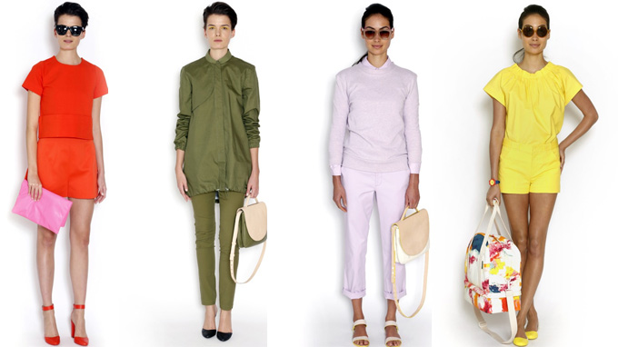 A collated view of the impending Kate Spade Saturday collection