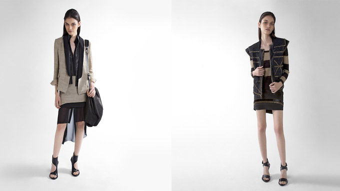 A preview of the Kenneth Cole Collection spring 2013