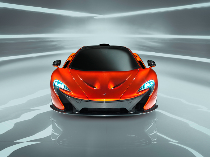 McLaren P1 gets its global debut at Paris Motorshow