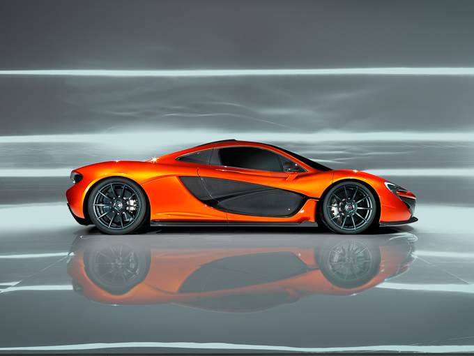 McLaren P1 concept right side drivers-side exterior