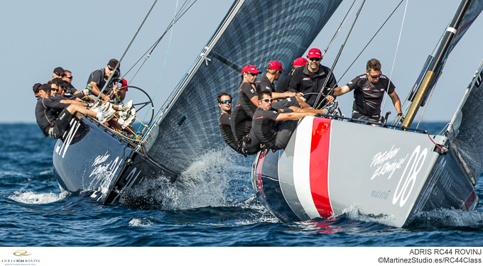 Adris RC44 World Championships 2012 yacht in action
