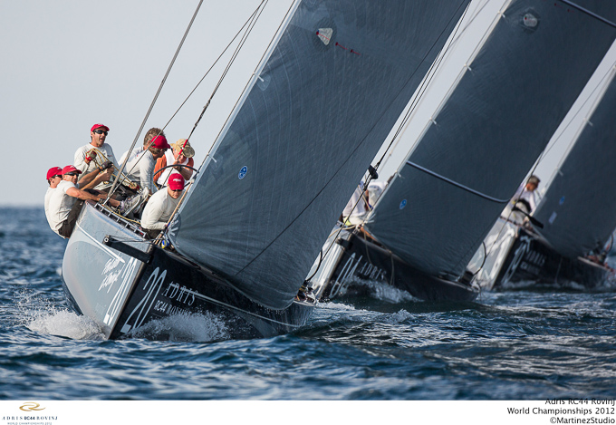 RC44 World Championships 2012 competition