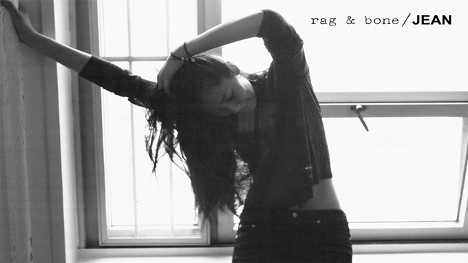 Liu Wen for Rag & Bone D.I.Y Project