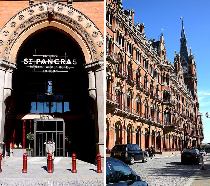 The Londoner review of St Pancras Renaissance Hotel exterior exterior view