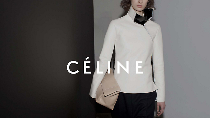 Editorial image for Céline AW12