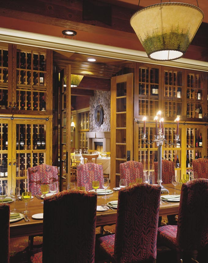 Fairmont Chateau Whistler Canada restaurant interior