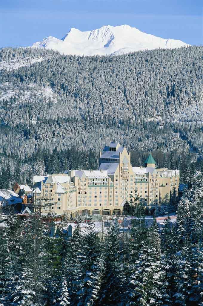 Fairmont Chateau Whistler Canada exterior