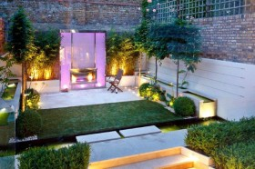 Award winning garden designer Kate Gould showcases her outside oasis