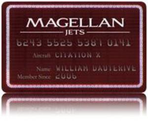 Magellan Jets gift card