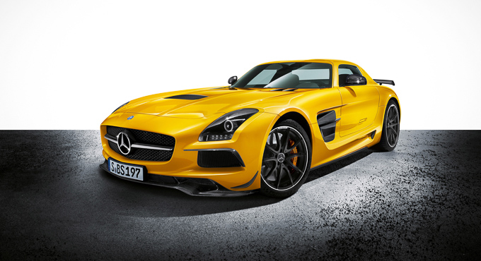 CDClifestyle get a sneak preview of the new Mercedes SLS AMG Coupé Black Series