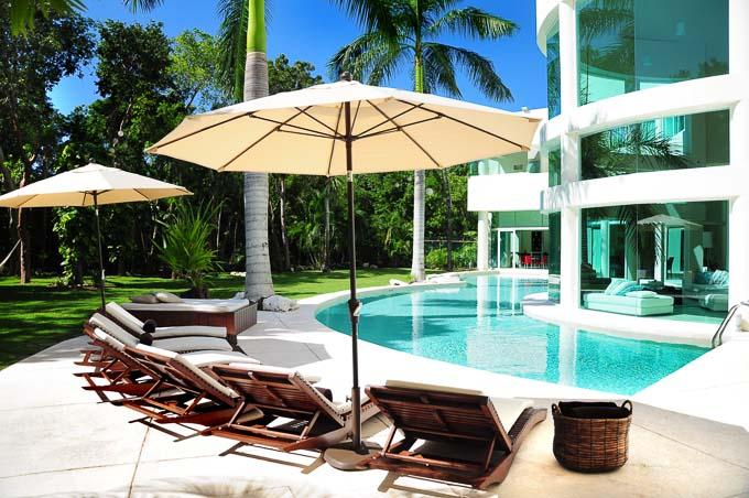 stunning exterior image of Aqua Villa in Playa del Carmen, Mexico