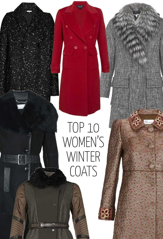 Top 10 Women's Winter Coats | Jodie Jones Selects The Season's Best